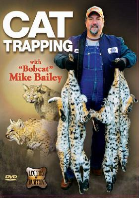 """Mike Bailey's """"Cat Trapping"""" DVD #baileycat15"""